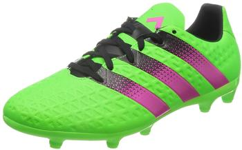 Adidas Ace 16.3 FG Men solar green/shock pink/core black