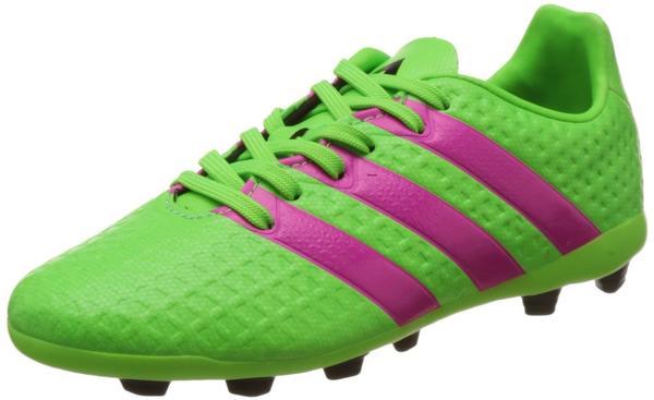 Adidas Ace 16.4 FxG Jr solar green/shock pink/core black