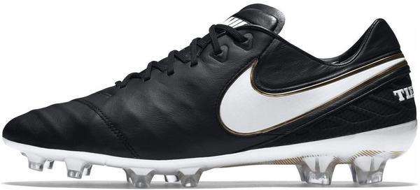 Nike Tiempo Legend VI FG black/white/black/metallic vivid gold