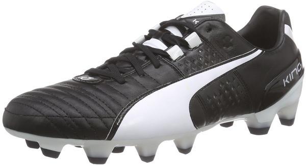 Puma King II FG black/white
