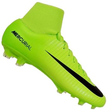Nike Mercurial Victory VI Dynamic Fit FG electric green/flash lime/white/black