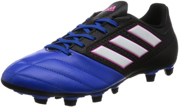 Adidas ACE 17.4 FxG core black/footwear white/blue
