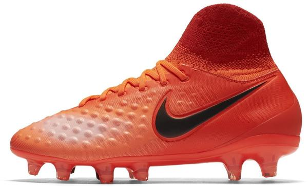 Nike Jr. Magista Obra II FG total crimson/university red/bright mango/black