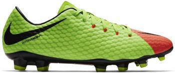Nike Hypervenom Phelon III FG electric green/hyper orange/volt/black