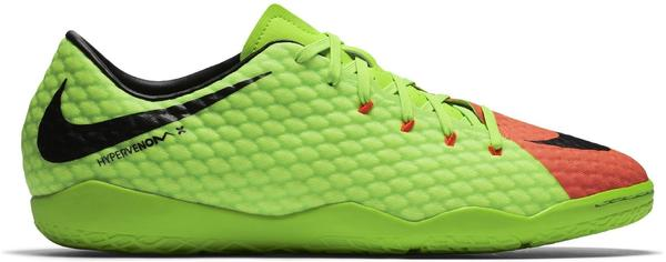 Nike HypervenomX Phelon III IC electric green/hyper orange/volt/black