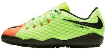 Nike HypervenomX Phelon III TF Jr electric green/hyper orange/volt/black