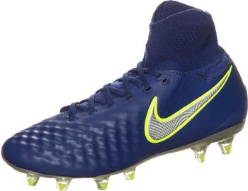 Nike Jr. Magista Obra II FG deep royal blue/total crinmson/bright citrus/chrome