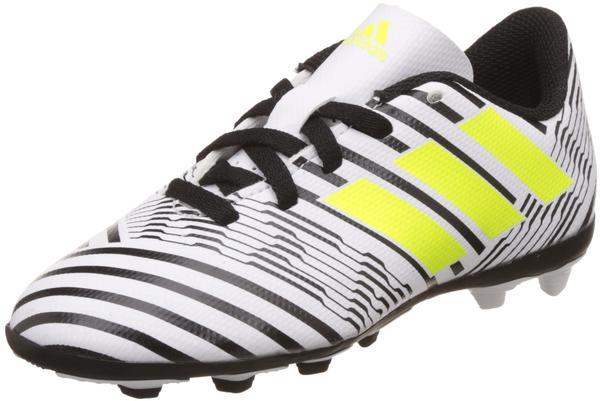Adidas Nemeziz 17.4 FxG Jr footwear white/solar yellow/core black