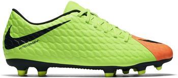 Nike Hypervenom Phade III FG electric green/black/hyper orange/volt