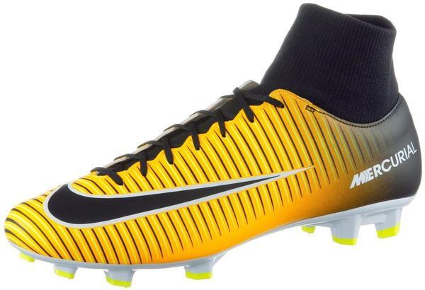 Nike Mercurial Victory VI Dynamic Fit FG laser orange/white/volt/black