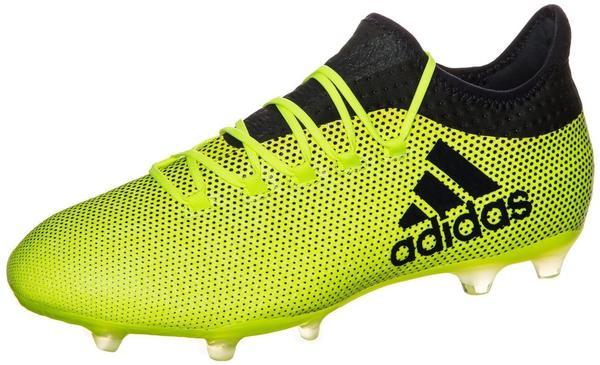 Adidas X 17.2 FG solar yellow/legend ink