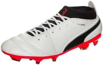 Puma ONE 17.3 AG white/black/coral