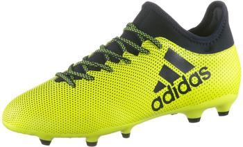 Adidas X 17.3 FG solar yellow/legend ink