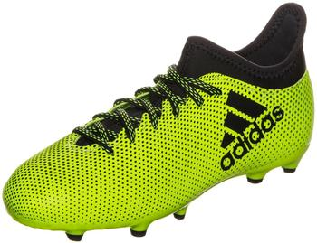 Adidas X 17.3 FG Jr solar yellow/legend ink