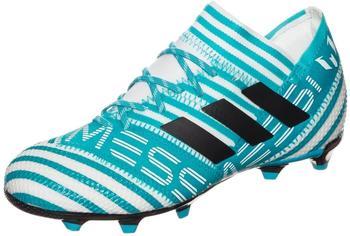 Adidas Nemeziz Messi 17.1 FG Jr footwear white/legend ink/energy blue