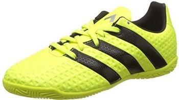 Adidas Ace 16.4 IN Jr solar yellow/core black/silver metallic