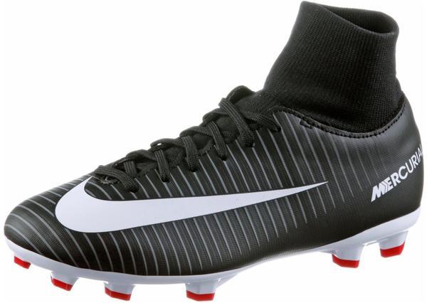 Nike Mercurial Victory VI DF FG Jr black/dark grey/university red/white