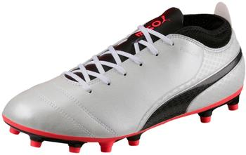 Puma ONE 17.4 FG white/black/coral