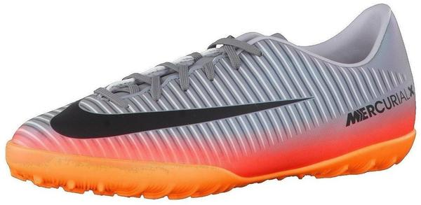 Nike MercurialX Vapor XI CR7 TF Jr cool grey/metallic hematite/wolf