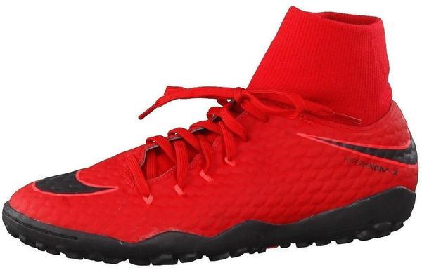 Nike HypervenomX Phelon III DF TF university red/black/bright crimson