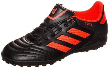 Adidas Copa 17.4 TF Jr core black/solar red