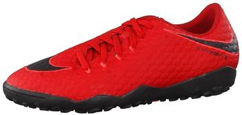 Nike HypervenomX Phelon III TF university red/black/bright crimson