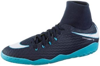 Nike HypervenomX Phelon III DF IC obsidian/white/gamma blue
