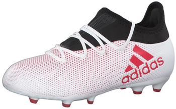 Adidas X 17.1 FG Jr white/real coral/core black