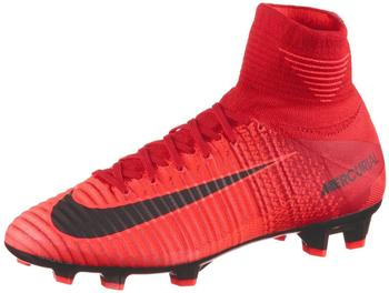 Nike Jr. Mercurial Superfly V FG unicersity red/black/bright crimson