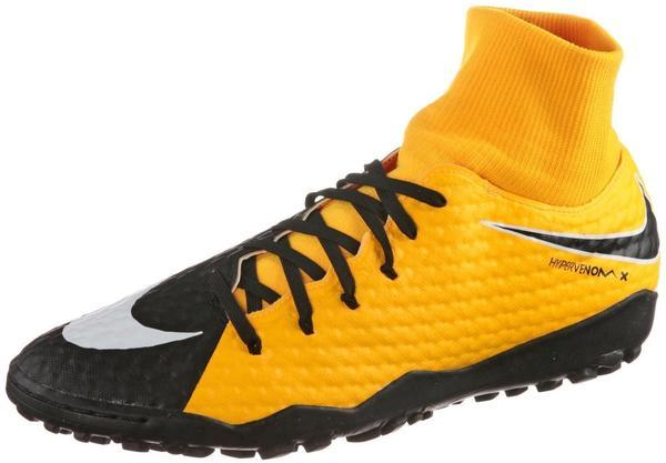 Nike HypervenomX Phelon III DF TF laser orange/black/volt/white