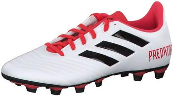 Adidas Predator 18.4 FxG footwear whitel/core black/real coral