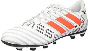 Adidas Nemeziz Messi 17.4 FxG ftwr white/solar orange/clear grey