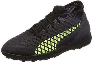 Puma Future 18.4 TT Jr puma black/fizzy yellow/asphalt
