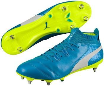Puma ONE 17.1 Mx SG atomic blue/puma white/safety yellow