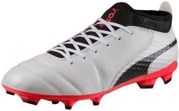 Puma ONE 17.2 FG white/black/coral