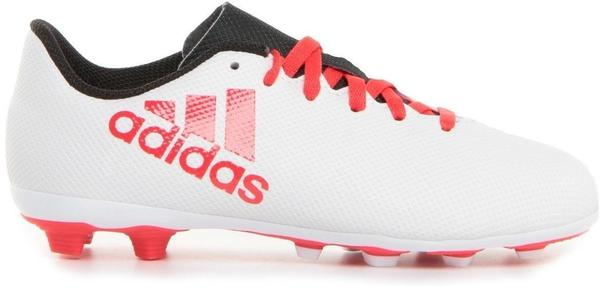 Adidas X 17.4 FxG Jr grey/real coral/core black