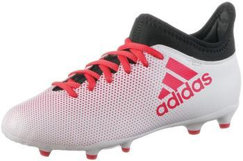 Adidas X 17.3 FG Jr grey/real coral/core black