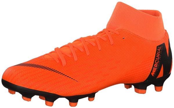 Nike Mercurial Superfly VI Academy DF MG total orange/black/total orange/volt