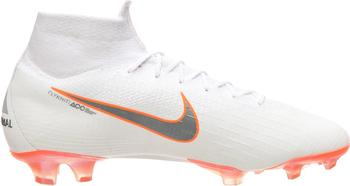 Nike Mercurial Superfly VI 360 Elite FG white/total orange/metallic cool grey