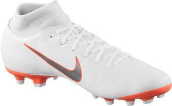 Nike Mercurial Superfly VI Academy MG white-mtlc cool grey-total orange