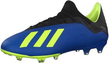 Adidas X 18.2 FG (DA9334) Men fooblu-syello-cblack