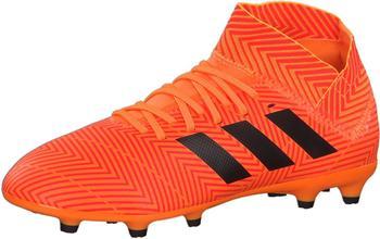 Adidas Nemeziz 18.3 FG Fußballschuh Kinder zestcore blacksolar red
