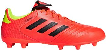 Adidas Copa 18.3 FG Fußballschuh solar red / core black / solar yellow