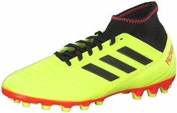 Adidas Predator 18.3 AG Fußballschuh yellowcore blacksolar red