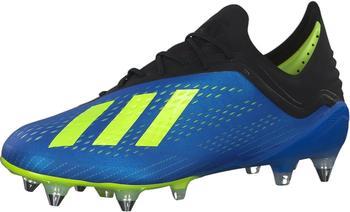 Adidas X 18.1 SG Fußballschuh Football blue / solar yellow / core black