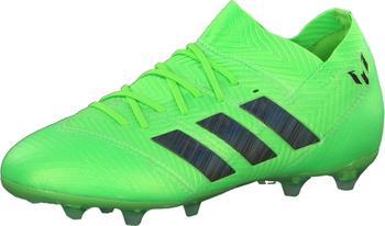 Adidas Nemeziz Messi 18.1 FG Fußballschuh Kinder solar greencore blacksolar green