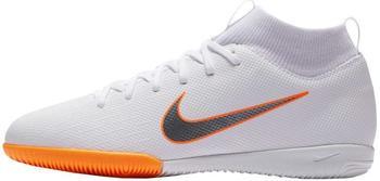 Nike MercurialX Superfly VI Academy Just Do It Jr. white/total orange/metallic cool gray/metallic cool gray