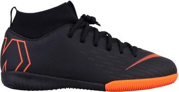 Nike MercurialX Superfly VI Academy Just Do It Jr. black/white/total orange