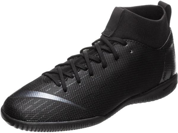 Nike Jr. MercurialX Superfly VI Academy AH7343-001 black/black/lightcrimson/black