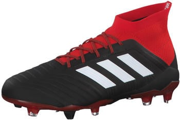 Adidas Football Boot Predator 18.1 FG DB2038 core black / ftwr white / red